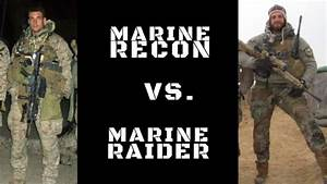 Watch: The difference between Marine Recon and Marine ...