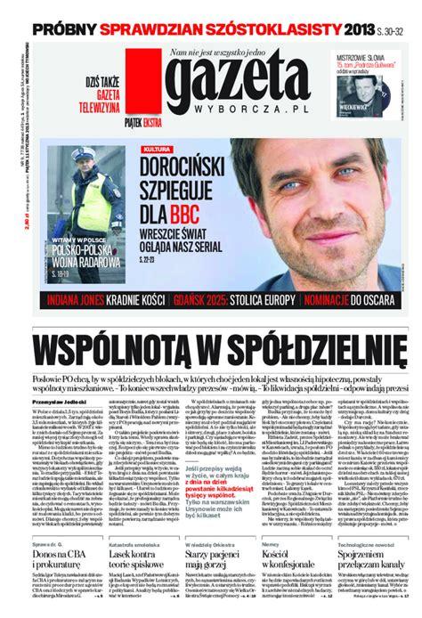 Gazeta Wyborcza - Warszawa - e-wydanie - 9/2013 - NEXTO.PL