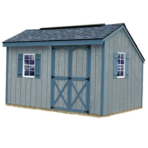 storage sheds home depot best barns aspen 8 ft x 12 ft wood storage shed kit
