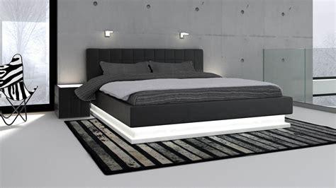 chambre lit blanc best chambre moderne noir et blanc ideas lalawgroup us