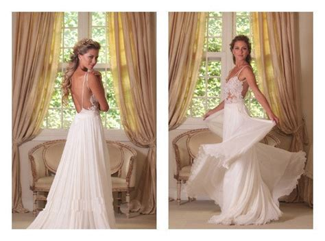Top Selling See Through Open Back Lace Wedding Dress 2015