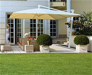 sonnenschirme und sonnenschirmstander mobiler With französischer balkon mit grosser sonnenschirm