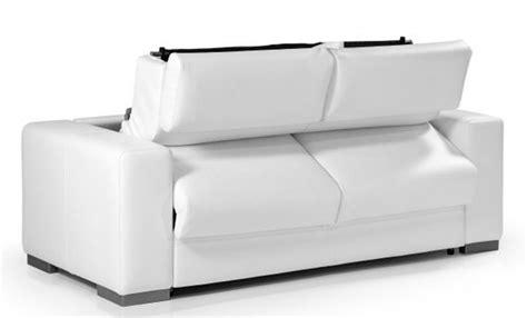 canape convertible cuir blanc canapé convertible en cuir blanc torino meuble et