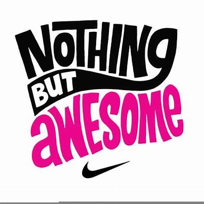 Clipart Nike Clip Cricut Lettering Designer Clker