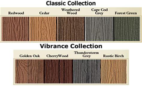 trex transcend decking colors evergrain composite decking colors st louis decks