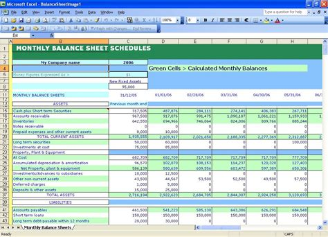 free balance sheet templates in excel excel balance sheet template free instant balance sheets excel