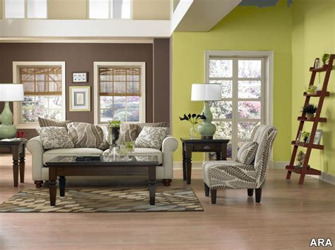 Living Room Entrancing Colorful Family Room Design On A