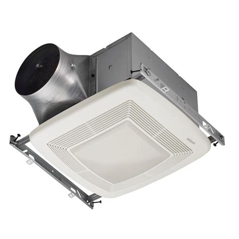 bathroom ceiling exhaust fan with light broan ultra green 110 cfm ceiling bathroom exhaust fan
