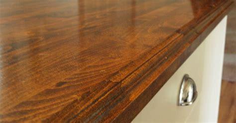 creating custom high  butcher block counter tops