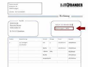 Rechnung Schreiben Ohne Steuernummer : dj rechnungsvorlage template download im ms word format ~ Themetempest.com Abrechnung
