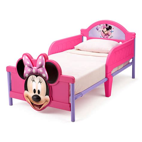 Canopies Minnie Mouse Toddler Bed With Canopy