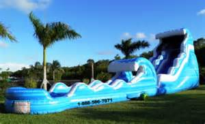 table and chair rentals miami big water slides rentals party rental serving miami and