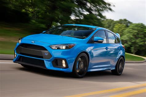 First 2016 Ford Focus Rs Rolls Off The Line In Germany