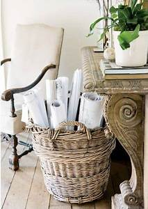 Decorating, With, Baskets, 18, Everyday, Ideas