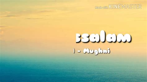 Lirik Lagu Deen Assalam  Sulaiman Al Mughni Youtube