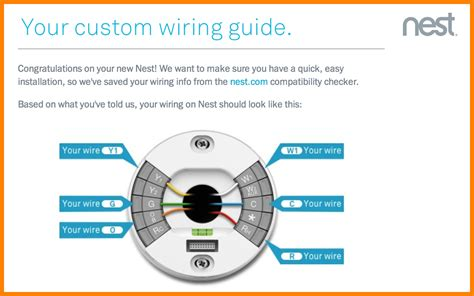 nest heat wiring diagram nest heat installation