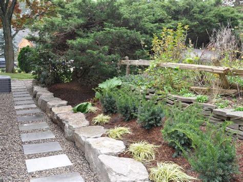 Small Back Yard Landscape Designhard Scape Pathways