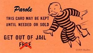the catch 22 of parole for the wrongfully convicted With get out of jail free card template
