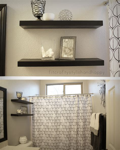 grey black  white bathrooms  grasscloth wallpaper