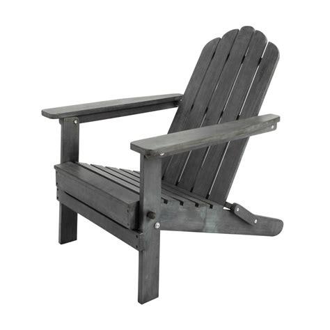 fauteuil pliant de jardin en acacia gris 233 ontario