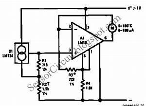 Kn 1865  Temperature Sensor Circuit Design Wiring Diagram