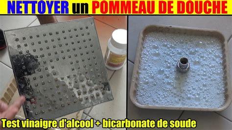 bain de siege bicarbonate de soude nettoyer un pommeau de entartré bouché vinaigre