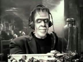 Herman Munster Ham Radio