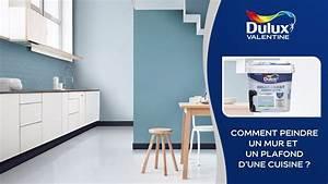 Comment Renover Un Plafond : comment peindre un mur et un plafond de cuisine youtube ~ Dailycaller-alerts.com Idées de Décoration