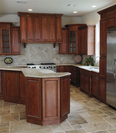 fully assembled kitchen cabinets nutmeg twist pre assembled kitchen cabinets the rta 3668