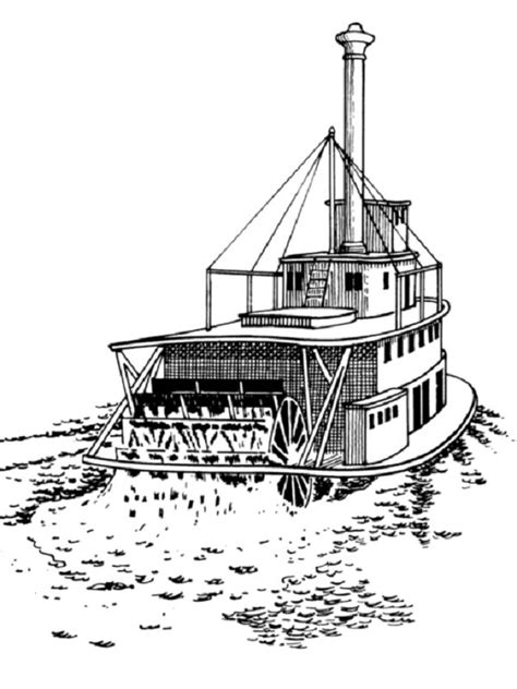 river boat coloring pages coloring kids coloring pages