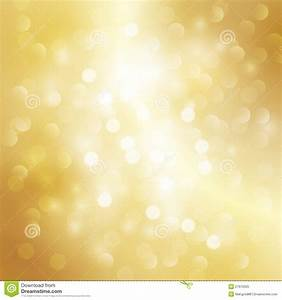 Gold Light Background Stock Photo - Image: 27679320