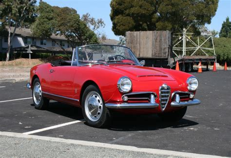 1963 alfa romeo giulia 1600 spider for sale bat auctions sold for 53 000 july 25 2018