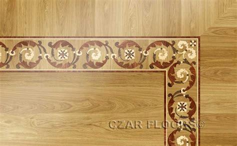 wood borders model  custom wood stone flooring
