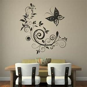 Wandtattoo Wall Art : wandtattoo im esszimmer eine richtig tolle idee ~ Sanjose-hotels-ca.com Haus und Dekorationen