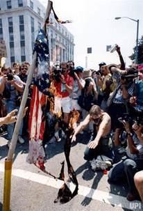 Ku Klux Klan American Flag