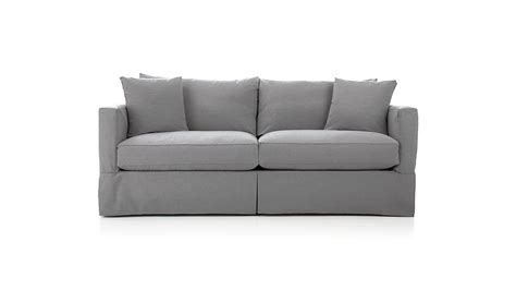 Sleeper Sofa With Air Mattress by Willow Sleeper Sofa With Air Mattress Crate And Barrel
