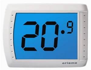 Elektronisches Thermostat Mit Fernfühler : thermostat elektronisch mit touch screen orieme visio ebay ~ Eleganceandgraceweddings.com Haus und Dekorationen