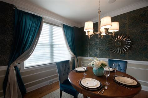 beautiful teal dining room  classic interiors www