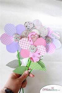 Blumen Basteln Kinder : diy muttertagsgeschenk blumen basteln mit papier ~ Frokenaadalensverden.com Haus und Dekorationen