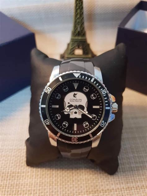 ประมูลสินค้ามือสอง : นาฬิกา Conavin killing ของใหม่ สวยไม่ ...