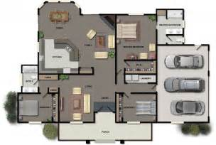 open space floor plans wonderful ultra modern house plans open kitchen dining