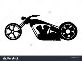 Harley Motorcycle Silhouette Clip Art