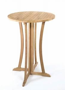Tisch Rund 90 Cm : tl 8120 bistrotisch stehtisch bartisch tisch holz teak tresen 90 cm neu rund ebay ~ Indierocktalk.com Haus und Dekorationen