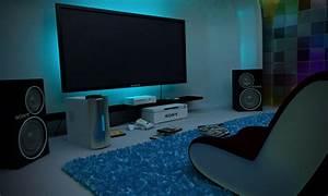 Video, Game, Room, Furniture