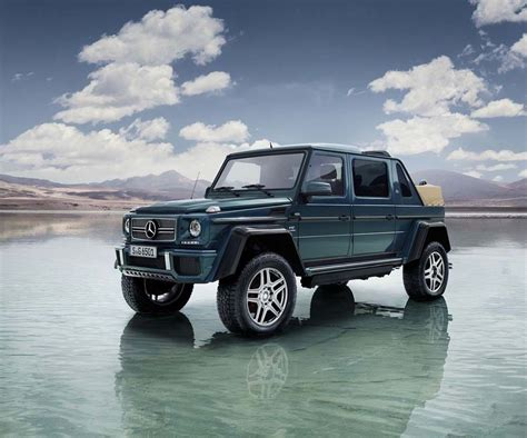 mercedes g wagon unique convertible g wagon by mercedes maybach