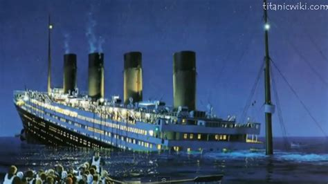 The Titanic Sinking Date when did the titanic sink titanic sinking date