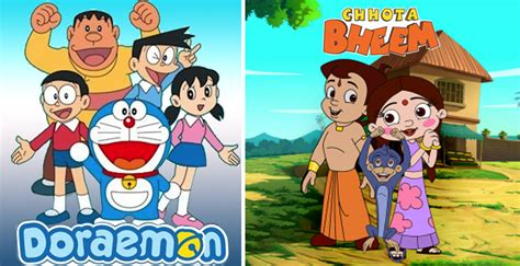 Most Popular Cartoon Shows For Indian Kids In 2017! Which