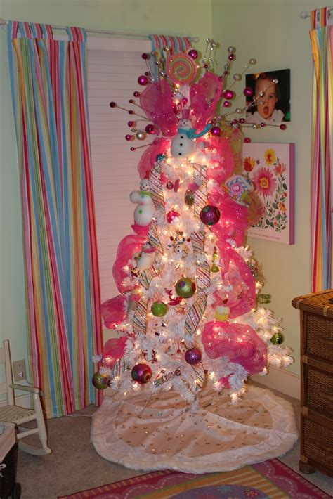 girly christmas tree decorations ideas decoration love