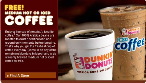 Free Cup Of Coffee Every Monday In March
