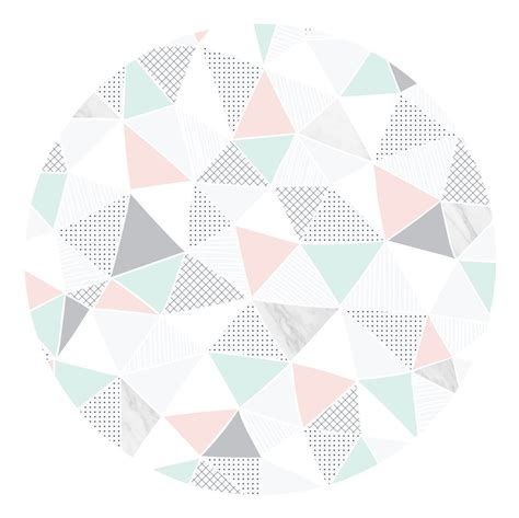 geometric pastel marble wall decal ginger monkey